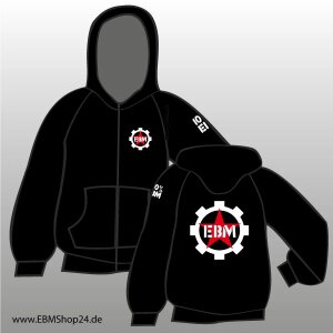 Hooded - Zipper -  100% EBM M