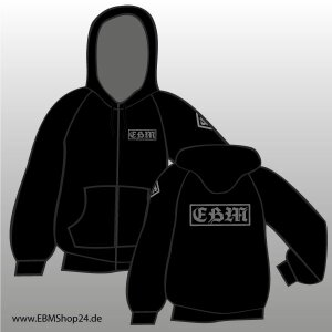 Hooded - Zipper -  EBM GREY