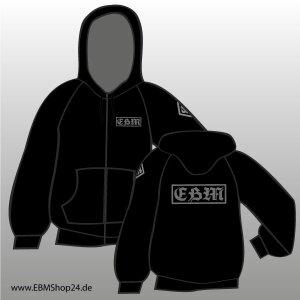 Hooded - Zipper -  EBM GREY XL