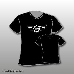 Girlie EBM-Wings - Kinder T-Shirt