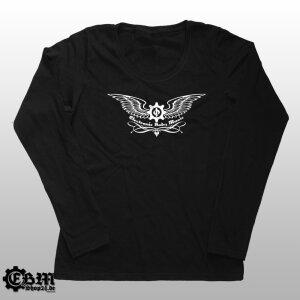 Girlie Longsleeve - EBM - Eagle Wings - Silver