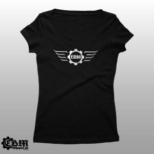 Girlie Melrose - EBM-Wings Silber
