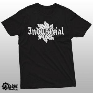 Industrial-Flower -T-Shirt