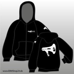 Hooded - Zipper -  Noise XXL