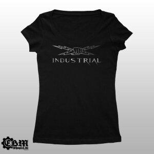 Girlie Melrose - Industrial - Blitz Silber