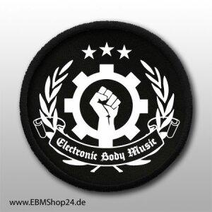 Aufnäher EBM - Clenched Hand aufnähen &...