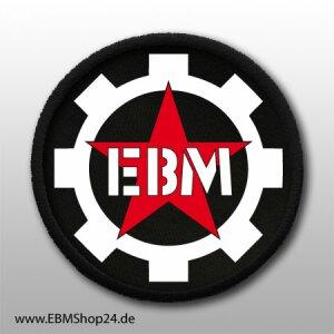 Aufnäher 100% EBM aufnähen & aufbügeln
