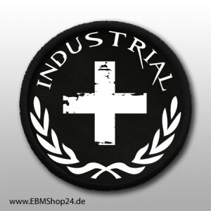 Patch Industrial Blitz sew on & iron on
