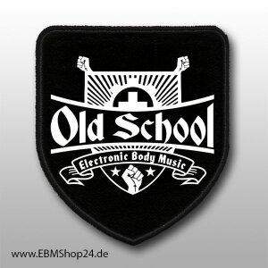 Aufnäher EBM - Old School nur aufnähen