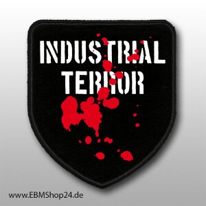 Patch Industrial Terror just sew on