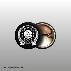Button EBM - ELITE Weiß