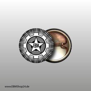 Button EBM-STAR Weiß