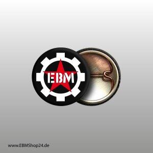Button 100 % EBM White