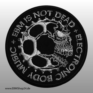 Patch EBM IS NOT DEAD embroidered