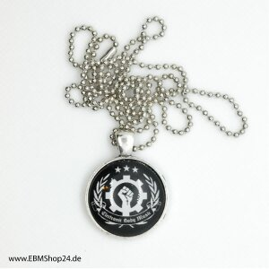 Pendants -  EBM Clenched Hand - Silver