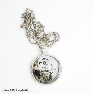 Pendants - clockwork mechanism - silver