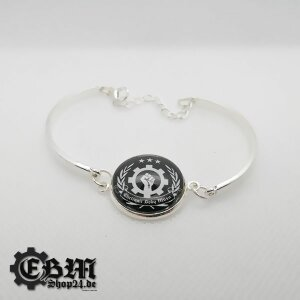 Armband - EBM Clenched Hand - Silber