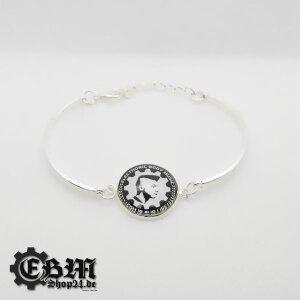 Bracele - EBM IS OUR LIFE - Silver