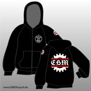 Hooded - Zipper -  EBM - Isolated Gear XL