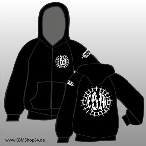 Hooded - Zipper - EBM - Scratched Star