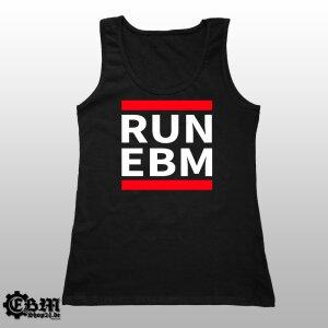 Girlie Tank - RUN EBM XXL