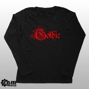 Girlie Longsleeve - Gothic - 666