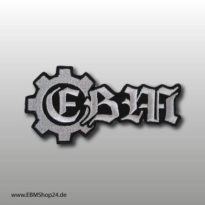 Embroidered patch EBM logo