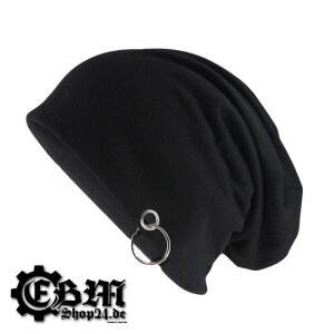 Beanies - Basic Black with ring