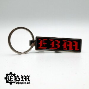 Schlüsselanhänger - EBM - Three Symbols -...