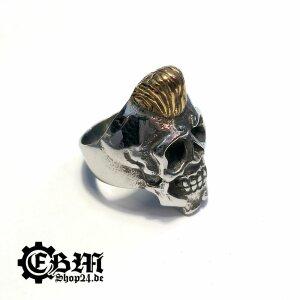 Flattop Skull -  Ring