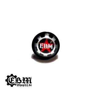 Ohrstecker - 100% EBM - Edelstahl Black