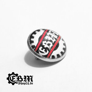 Lapel pin - EBM - Isolated Gear