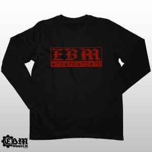 EBM - Three Symbols - Longsleeve B