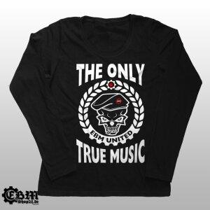 Girlie Longsleeve - EBM - The Only True Music