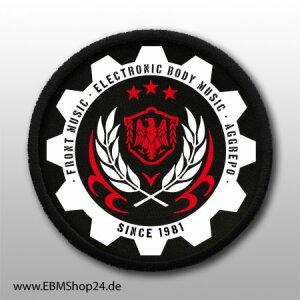 Aufnäher EBM SINCE 1981