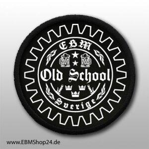Aufnäher  EBM - Old School Schweden II