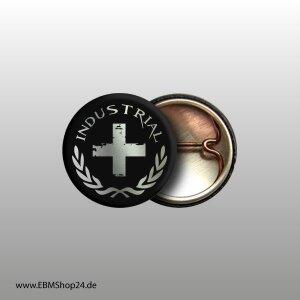 Button Industrial Cross