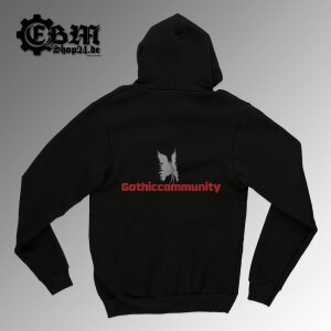 Hooded - Zipper - Gothiccommunity