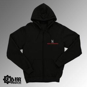 Hooded - Zipper - Gothiccommunity XXL