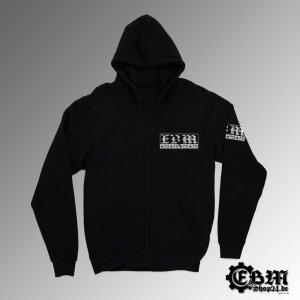 Hooded - Zipper - EBM - Three Symbols - W
