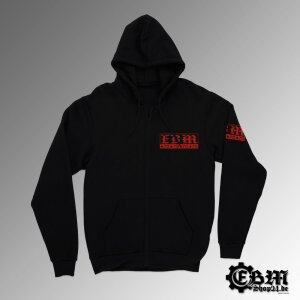 Hooded - Zipper - EBM - Three Symbols - R